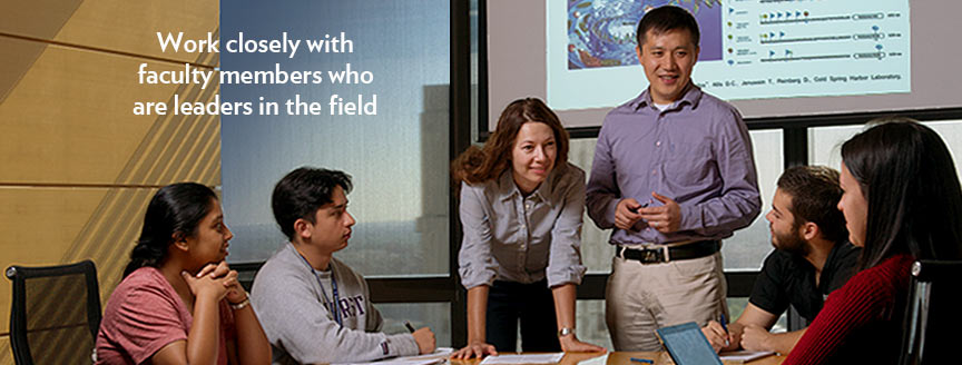 TPCB benefits: Work closely with faculty members who are leaders in the field