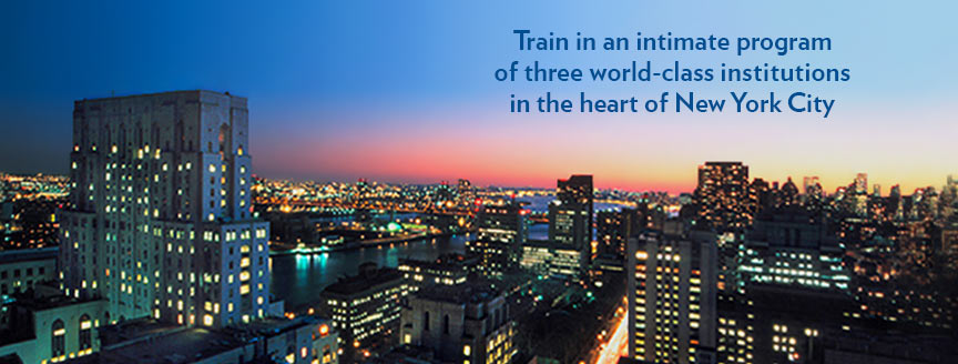 TPCB benefits: Train in an intimate program of three world-class institutions in the heart of New York City