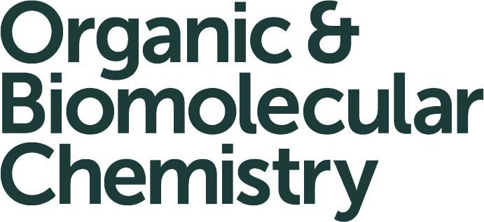 Organic and Biomolecular Chemistry journal logo