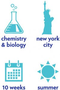 chemical biology summer program icons