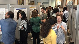 Poster session at the 2017 Tri-Institutional Chemical Biology Symposium