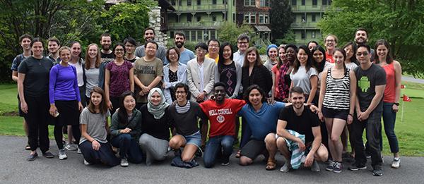 TPCB students at the 2018 retreat