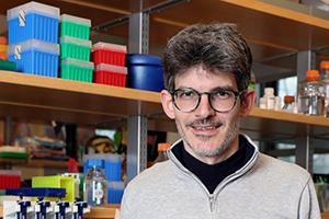 TPCB faculty member Luciano Marraffini