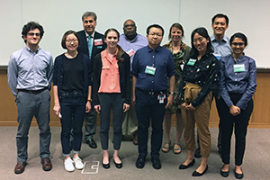 Speakers and TPCB student organizers at the 2018 Tri-Institutional Chemical Biology Symposium