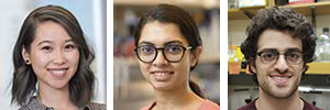 TPCB students Ashley Chui, Sahana Rao, and Jacob Litke