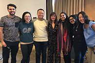 TPCB students gave research presentations at the 2019 Retreat