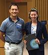 2019 Tri-I Chem Bio Symposium - early-stage student poster award winner Ilana Kotliar