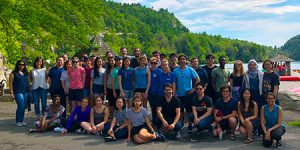 TPCB students at the annual Career Development Retreat