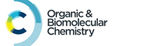 Organic and Biomolecular Chemistry journal logo