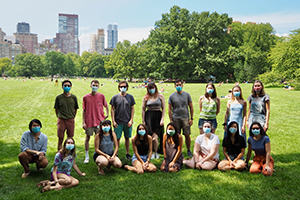 TPCB welcomes students at picnic in Central Park